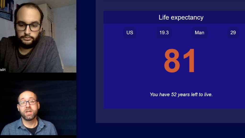 Estimación esperanza de vida según algoritmo de reconocimiento facial