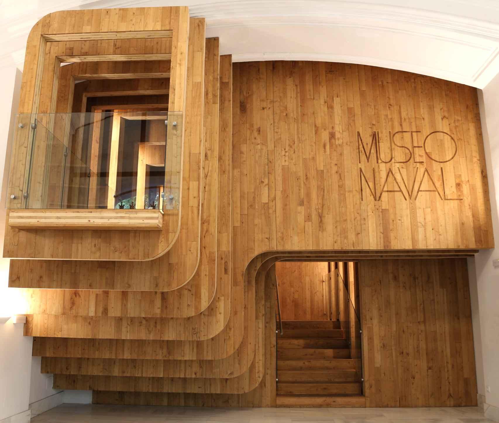 Nueva entrada del Museo Naval.