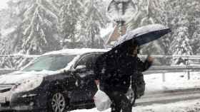 Nieve en otoño. EFE/EPA/Grzegorz Momot.