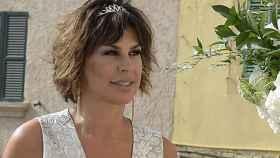 Raquel Perera, durante una boda en Mallorca.