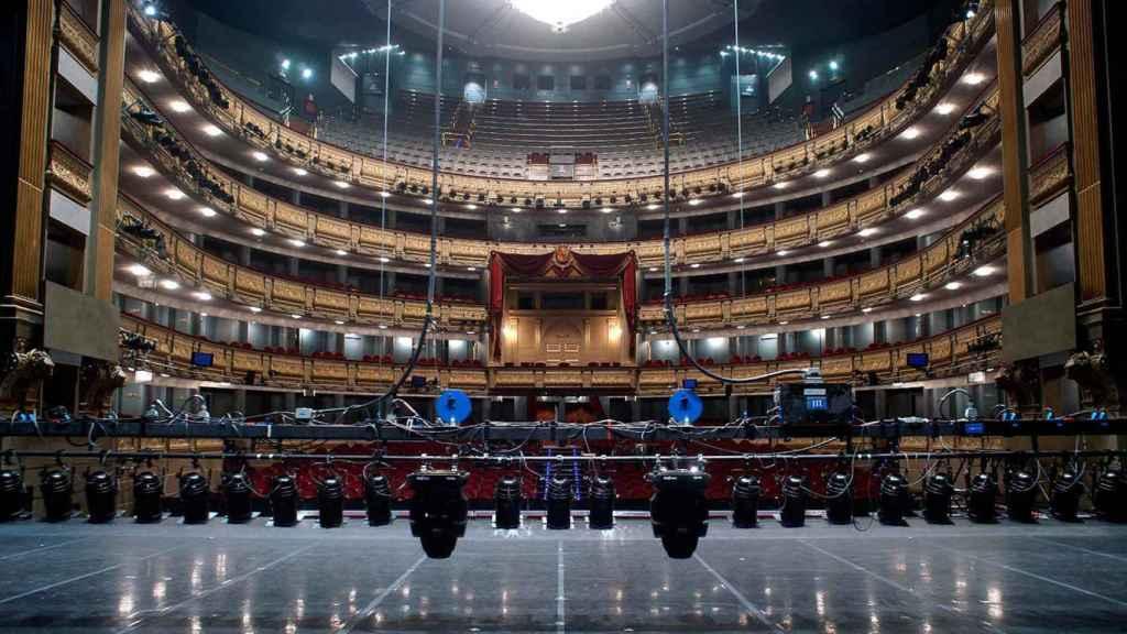 Escenario del Teatro Real.