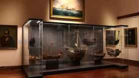 La renovada primera sala del Museo Naval.