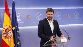 El portavoz de ERC, Gabriel Rufián.
