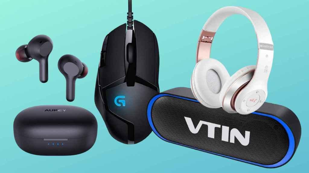 Ejemplo de gadgets tecnológicos más vendidos en el Amazon Prime Day