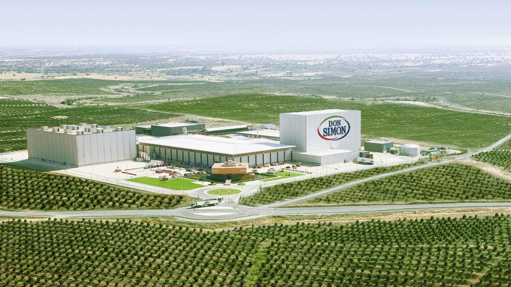 La planta de García Carrión en Huelva