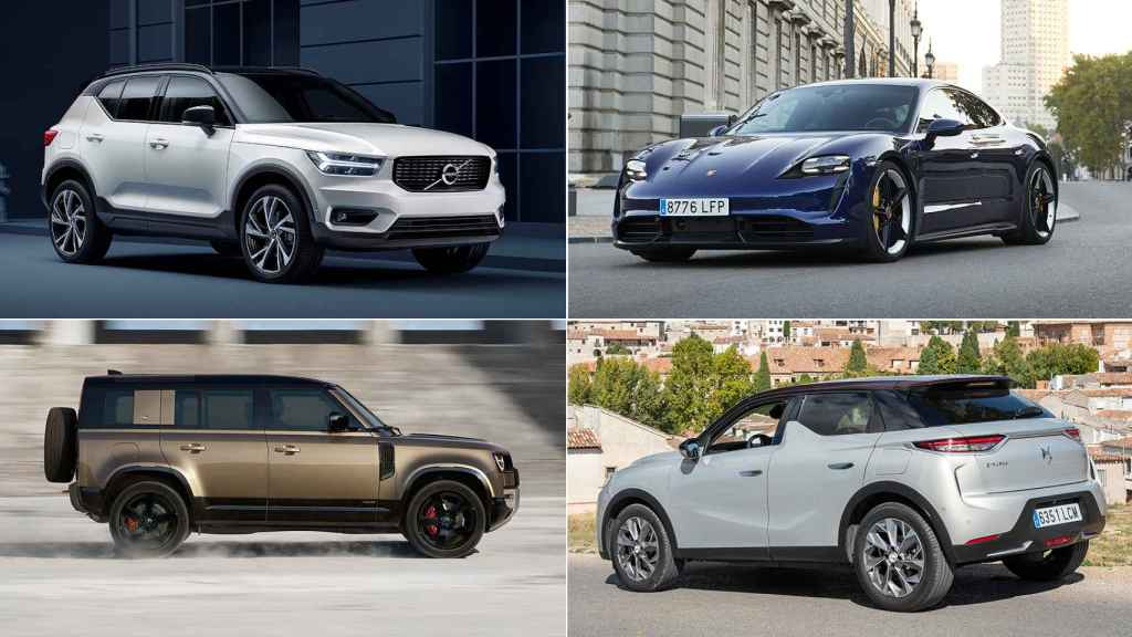 Porsche, Volvo, Land Rover y DS son las marcas que más crecen en 2020.