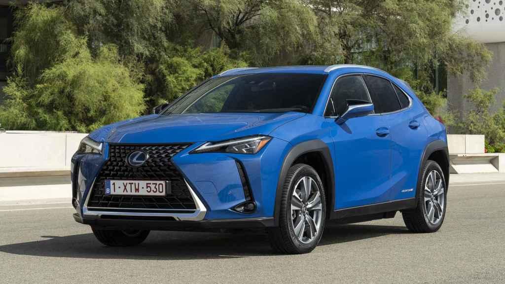 Versión eléctrica del Lexus UX.