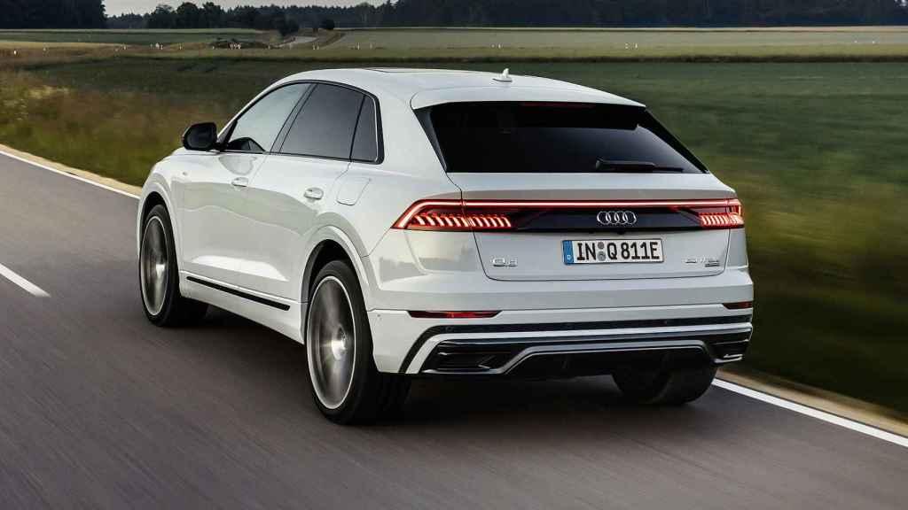 Audi Q8 TFSIe quattro.