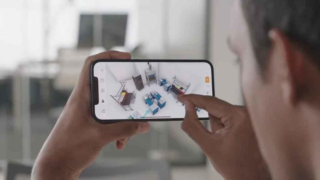 LiDAR en iPhone 12 Pro