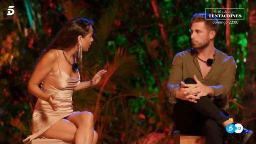 Melyssa y Tom ajustando cuentas.