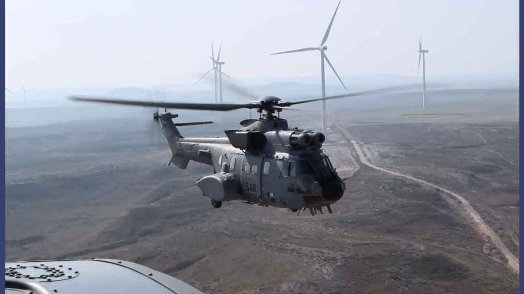 Super Puma del Ejército del Aire