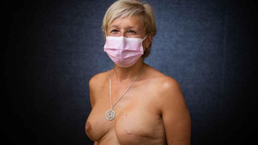 Ángela Claverol, presidenta de AMAMA y diagnosticada de cáncer de mama con 49 años.