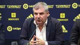 Manuel Vizcaíno, presidente del Cádiz CF