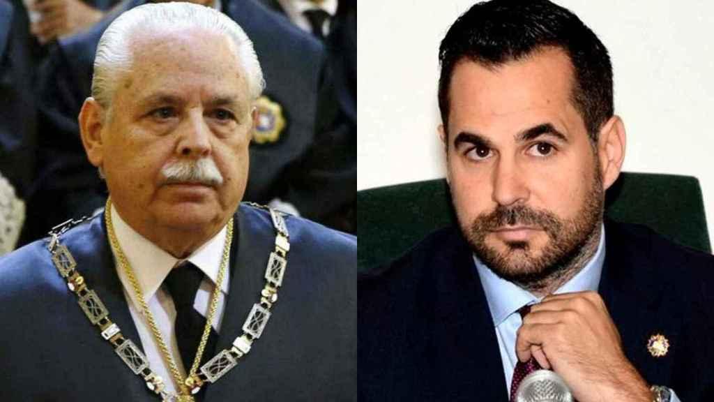El teniente fiscal del Supremo Luis Navajas y el fiscal Ignacio Stampa.
