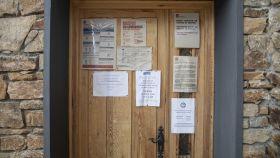 Consultorio rural cerrado