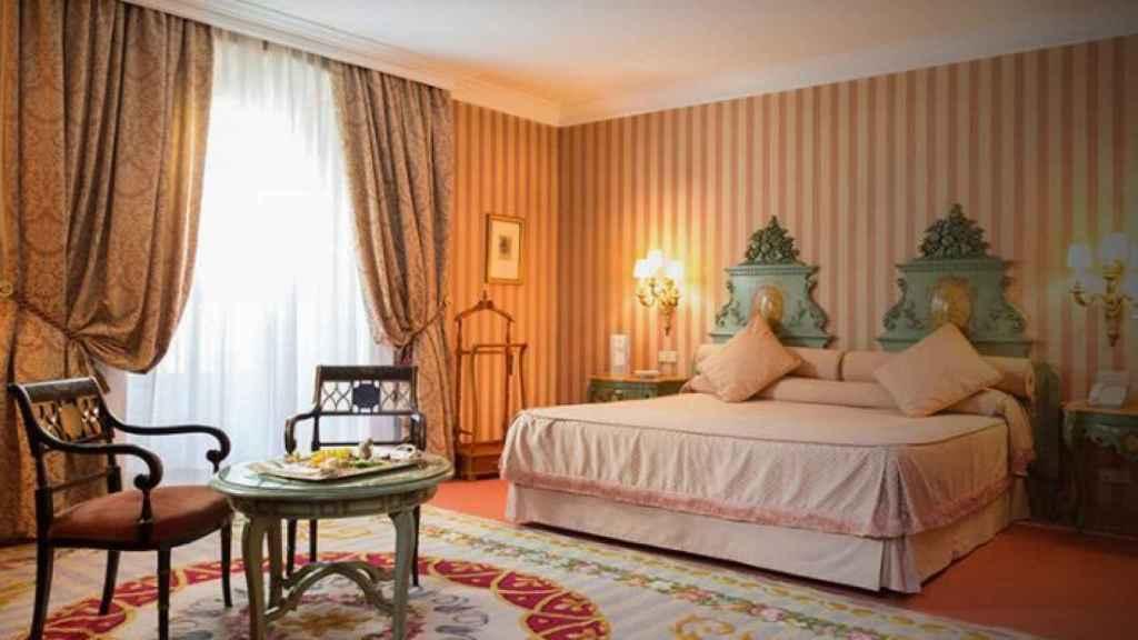 La suite del Hotel De La Reconquista.