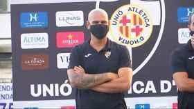 Víctor Valdés, entrenador de la UA Horta