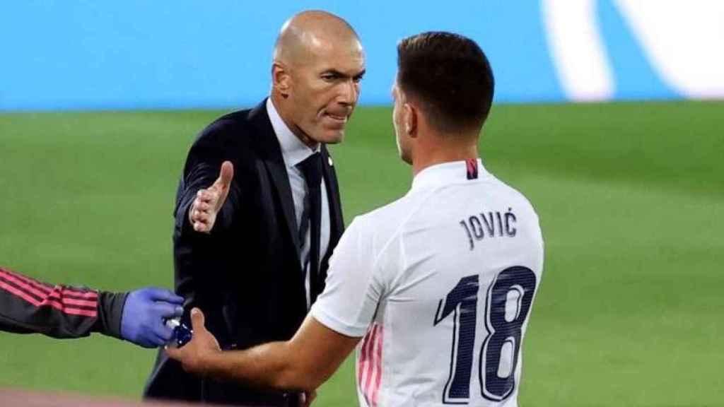 Zidane y Jovic