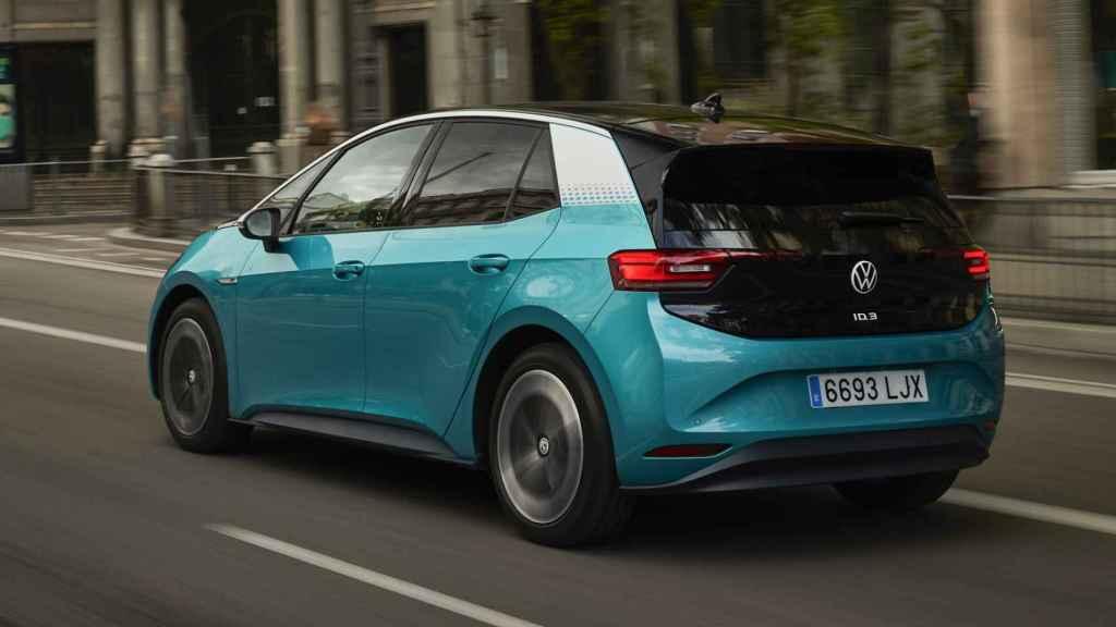 Este Volkswagen es el primer modelo del grupo que lleva la plataforma MEB de eléctricos.