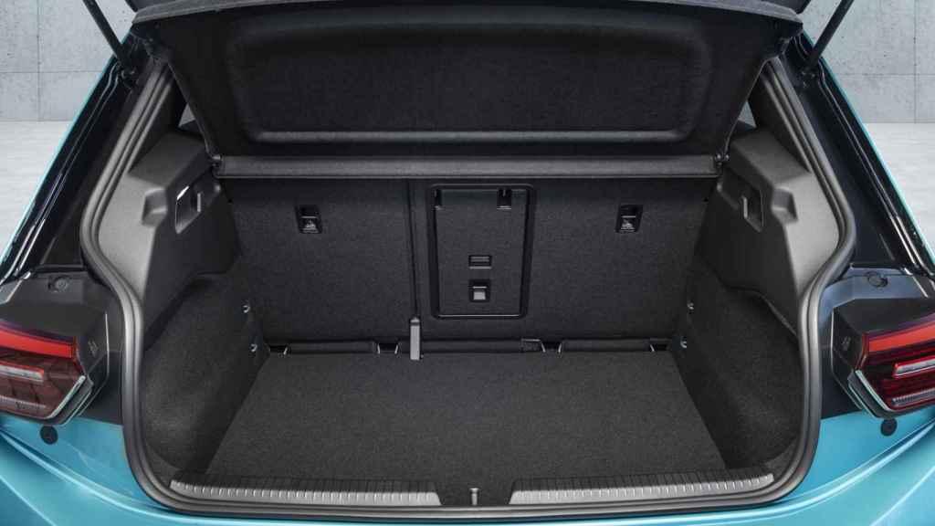 El maletero destaca por su buena capacidad.