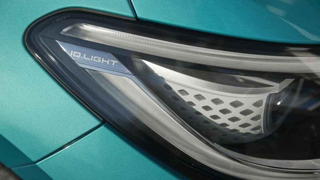 Detalle de los faros en el nuevo VW ID.3.