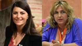 Macarena Olona y Beatriz Carrillo.