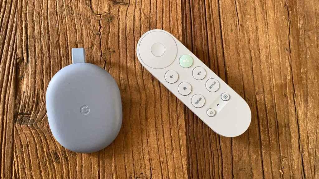 Chromecast con Google TV.
