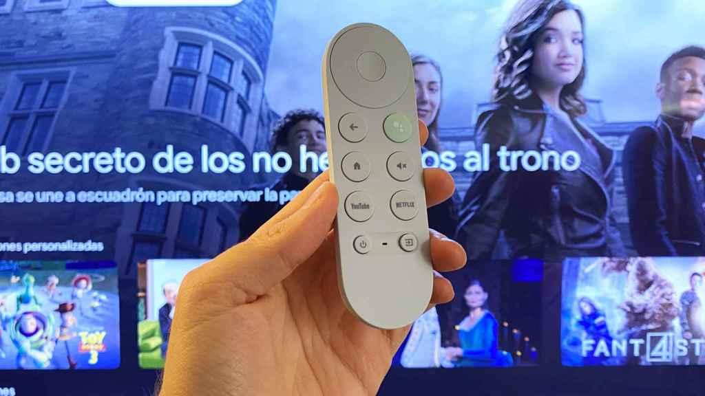 Mando del Google Chromecast