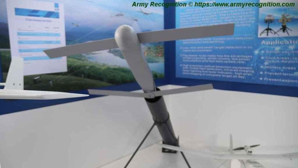 Modelo del dron suicida usado por China