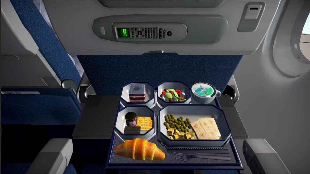 La experiencia de Airplane Mode incluye hasta las comidas de avión