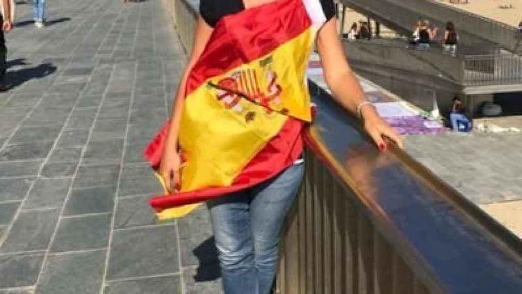 La exconcejala de Vox en Galapagar, Cristina Gómez.