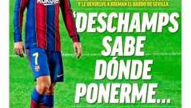 La portada del diario MARCA (16/10/2020)