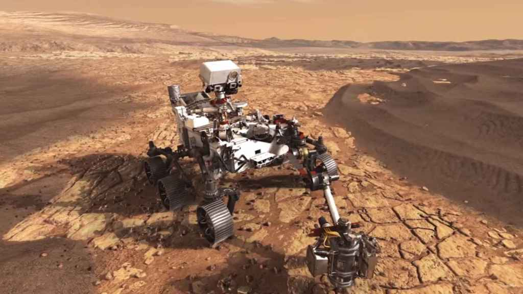 Vehículo del Mars Sample Return