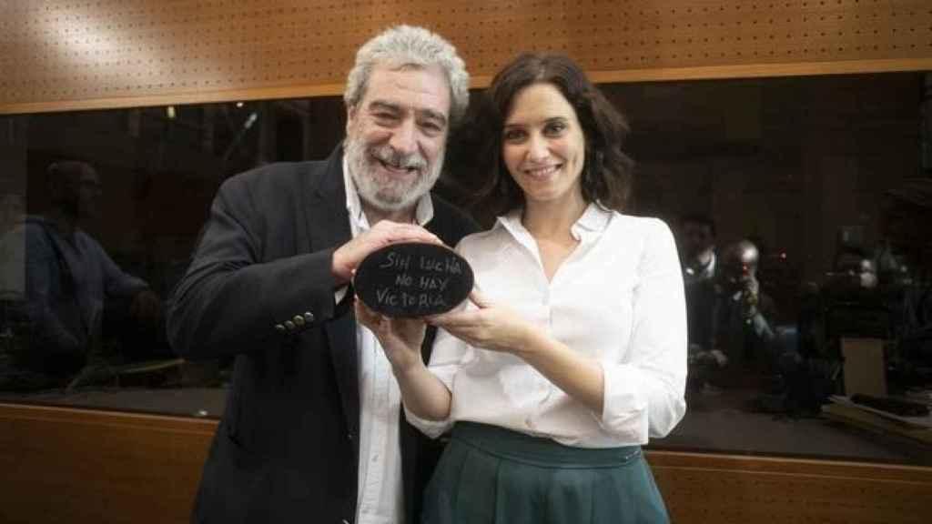 Miguel Ángel Rodríguez e Isabel Díaz Ayuso.