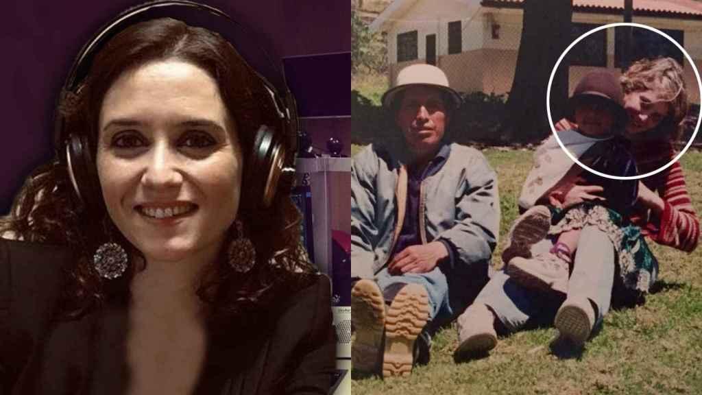 Isabel Díaz Ayuso tuvo dos experiencias internacionales trabajando en el ámbito de la comunicación.
