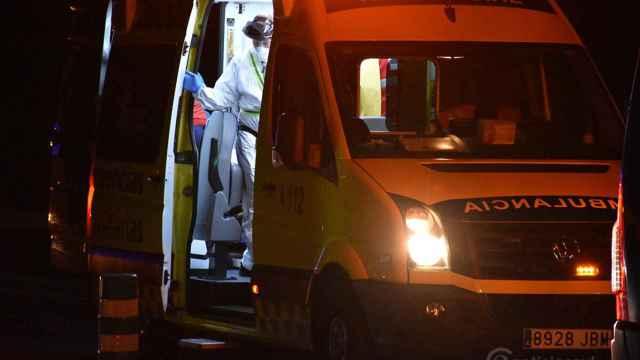 Ambulancia noche zamora