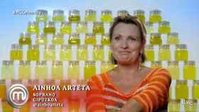 Ainhoa Arteta se sincera y  hace balance de su paso por 'Masterchef Celebrity'
