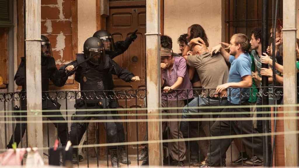 Fotograma de Antidisturbios.