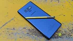 El Samsung Galaxy Note 9 se actualiza con las novedades de los Galaxy Note 20