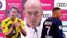 Zidane, Haaland y Mbappé