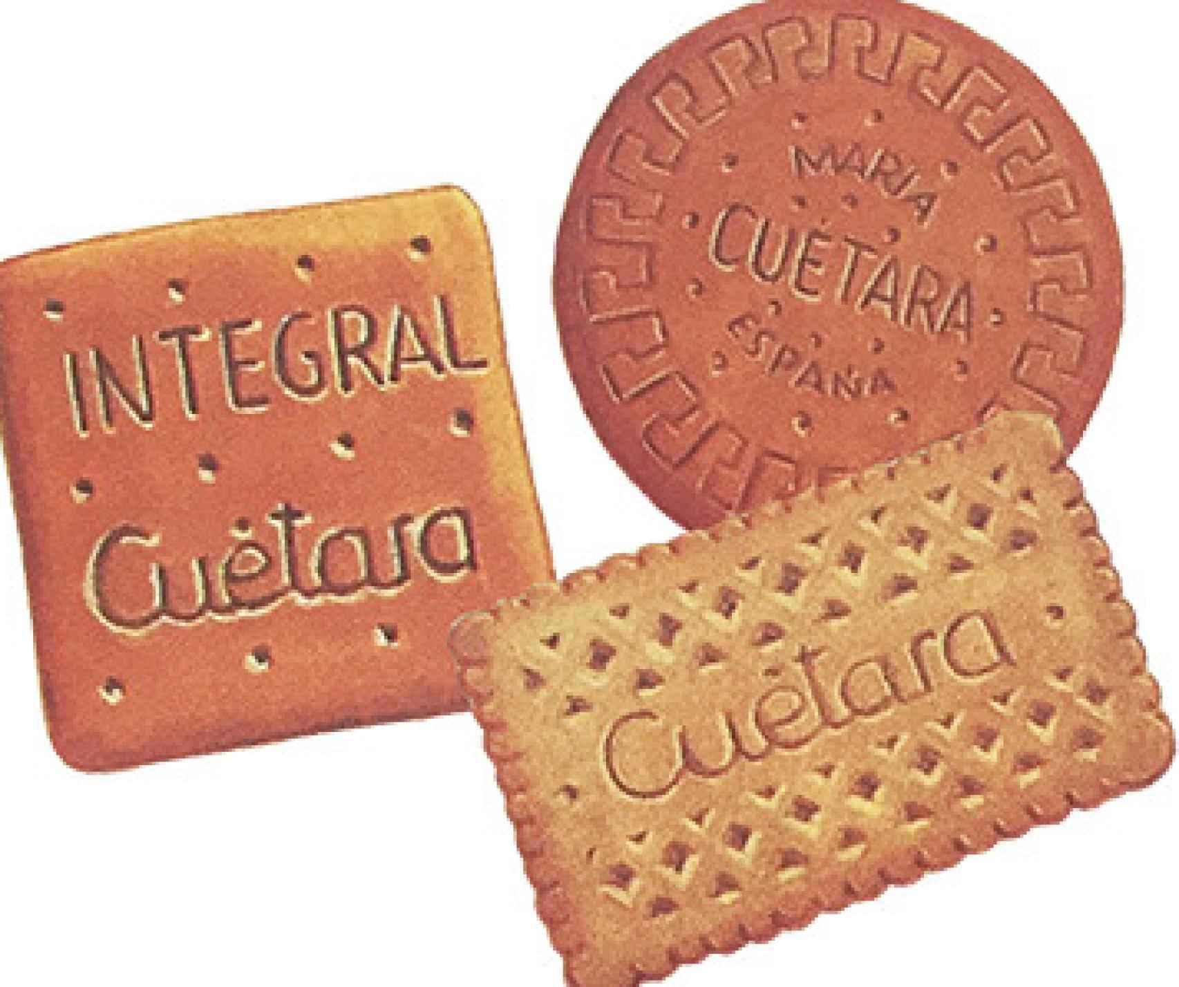 Las primeras galletas Cuétara.