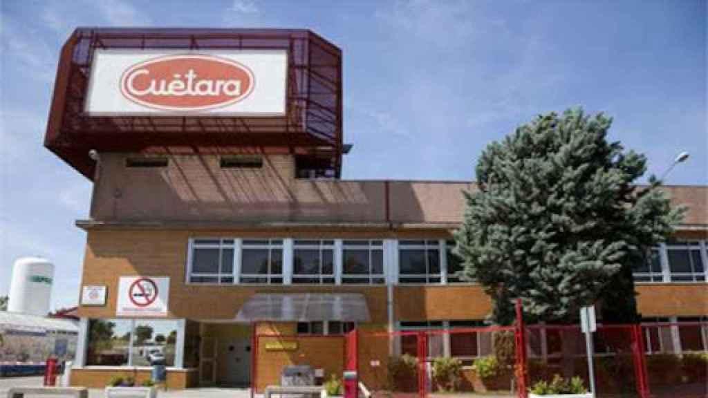 La fábrica de Cuétara en Villarejo de Salvanés (Madrid).