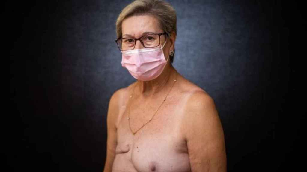 Loli, enferma de cáncer.