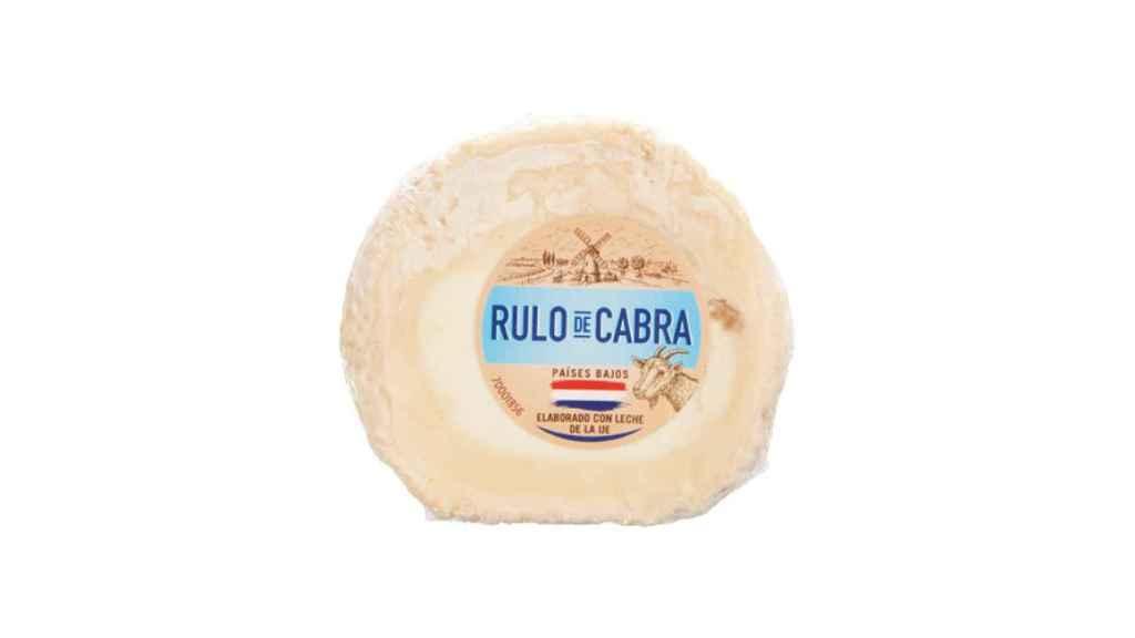 El queso de rulo de cabra que comercializa Lidl y en el que se ha detectado Listeria.