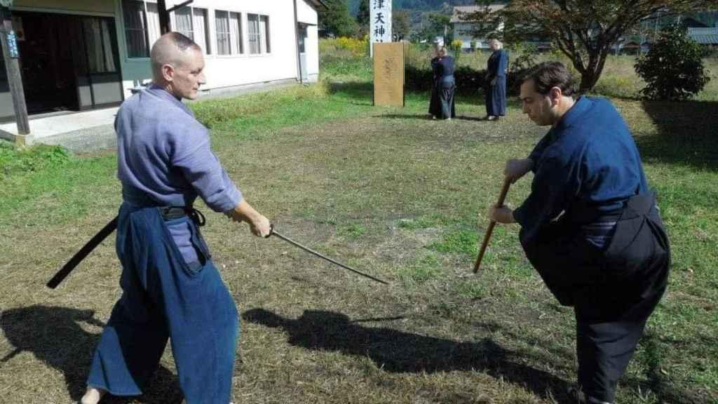 Entrenamiento en Japón