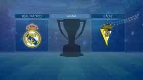 Streaming en directo | Real Madrid - Cádiz (La Liga)