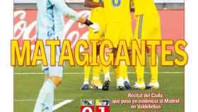La portada del diario AS (18/10/2020)