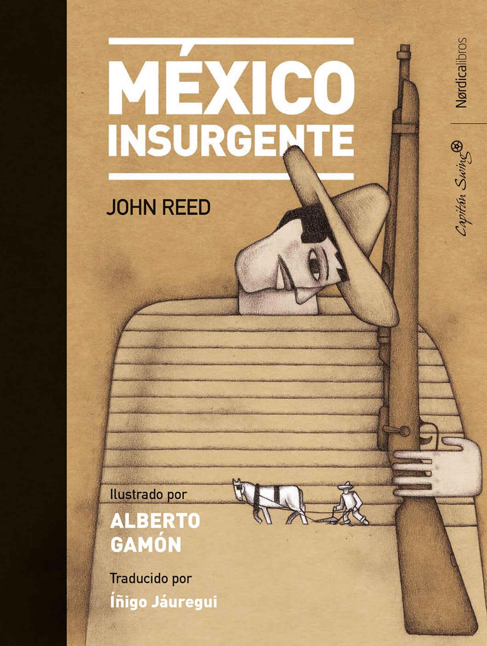 Portada de 'México insurgente'.