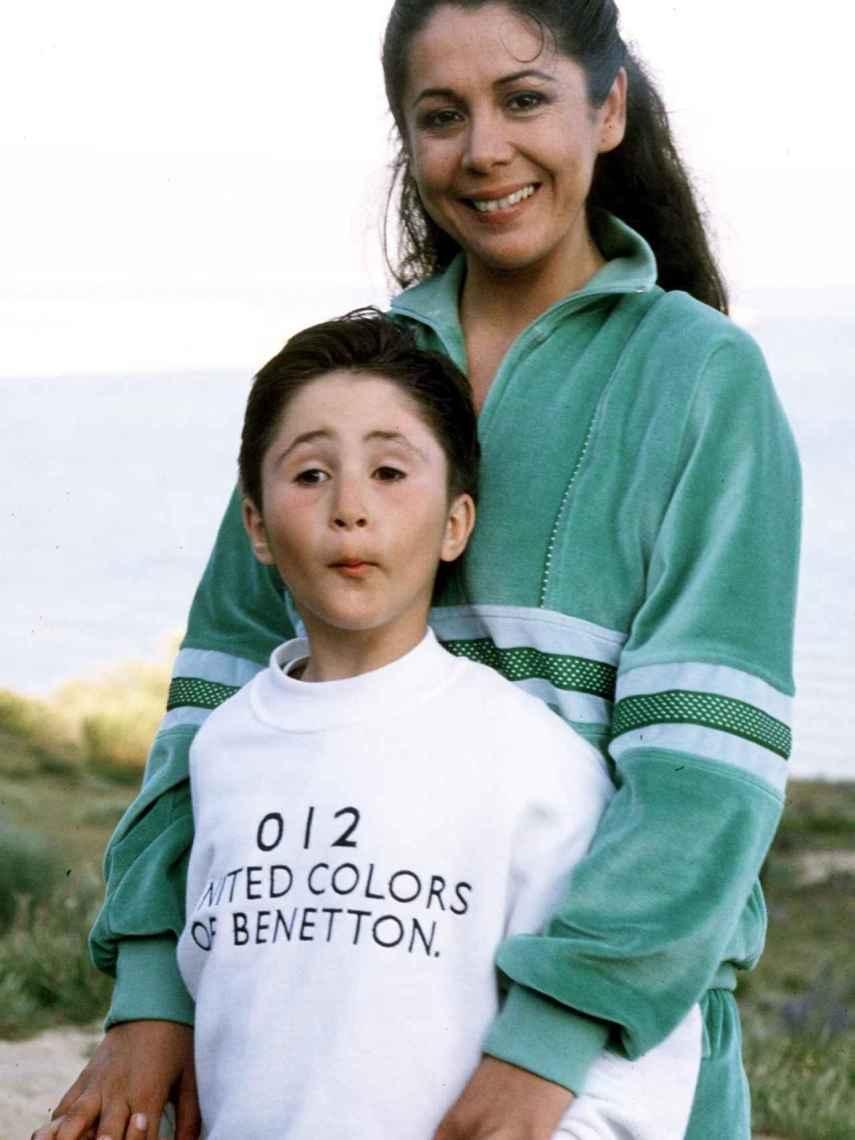 Kiko Rivera, junto a su madre, en una imagen de archivo.