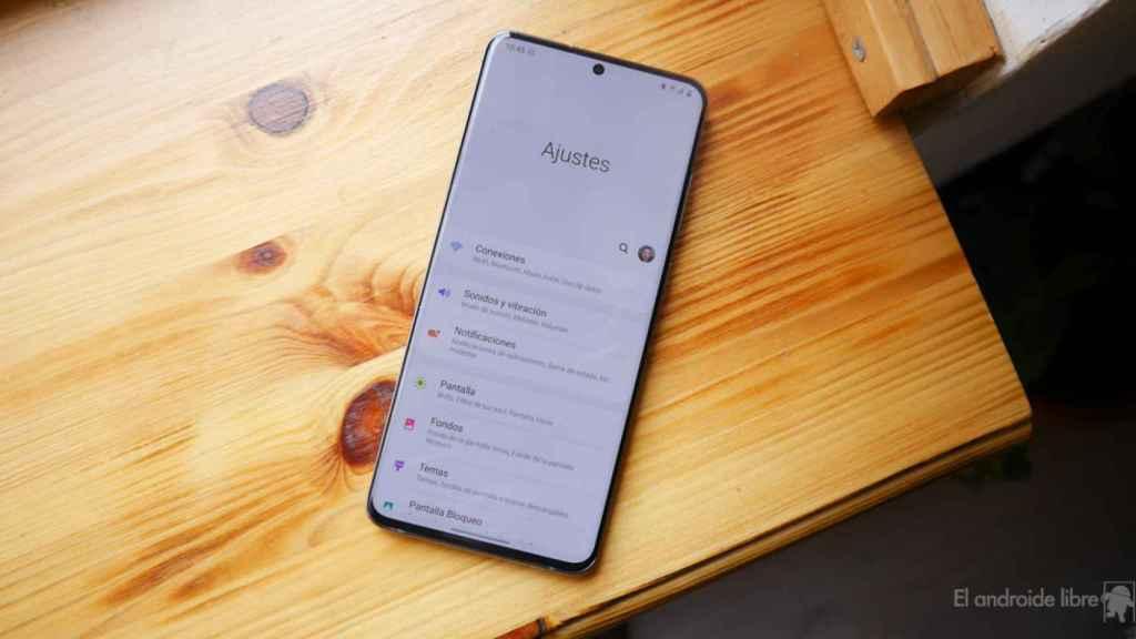 Samsung Galaxy S20 Ultra con carga rápida de 45 W